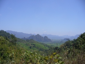 One of Khao Sok National Park Viewpoints