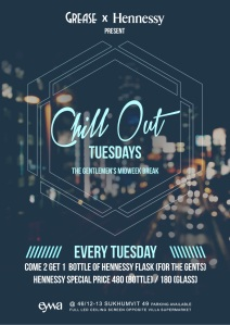 Grease x Hennessy presents Chill Out Tuesday's